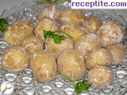 Potatoes with crust of sea salt (Papas arrugadas)