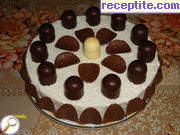 recipe photo 19 Layered cake with biscuits Raphael