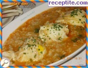 Eggs with rice