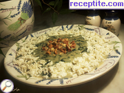 Nettle porridge with cheese