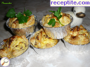 Little Snails puff pastry with cheese