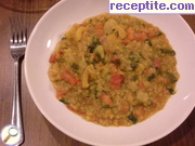 Aromatic red lentil