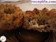 Muffins with oat flakes