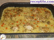 recipe photo 1 Chicken with rice in the oven