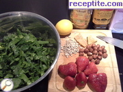 recipe photo 1 Salad with spinach and strawberries