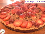 recipe photo 2 Raw chocolate layered cake with nuts and fruits