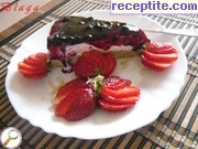 Cheesecake without baking and gelatin