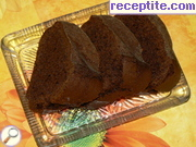 Chocolate sponge cake with flour type
