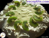 Pavlova with cream Chantilly * *