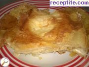 Burek with milk and cheese