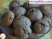 Cookies with dates and raisins