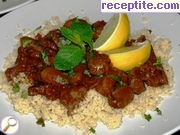 Lamb tagine with apricots