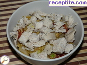 Aromatic cooked chicken breasts