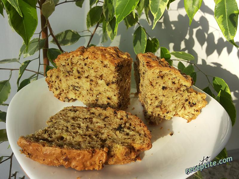 Снимки към Хляб с орехи и тиквички