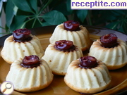 Muffins with cherry filling