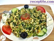 recipe photo 1 Scrambled eggs with green onion and dill