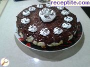 recipe photo 3 Chocolate-banana layered cake with lots of cream Lucy