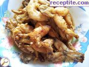 Caramelized frog legs