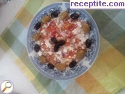 recipe photo 2 Salad with roasted peppers and cheese