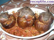 Chicken in eggplants