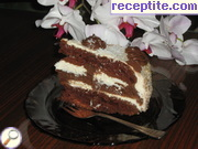 recipe photo 9 Russian black and white layered cake