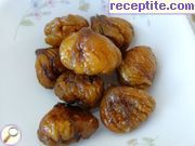 Candied chestnuts Marron Glaces