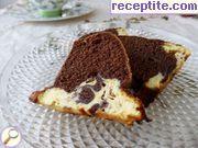 снимка 5 към рецепта Какаов кекс с рикота