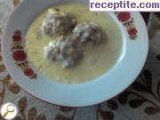 Meatballs with white sauce - II type