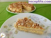 Swedish almond layered cake