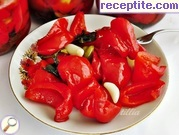Marinated bell peppers (hot-way)