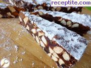 Panforte chocolate