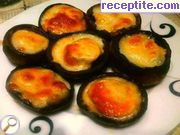 Stuffed mushrooms with melted cheese