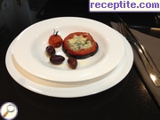 Appetizer of eggplants