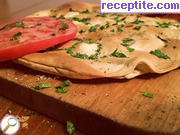Focaccia - thin pita with spices