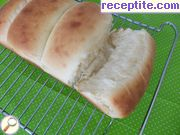 Soft Asian bread method tangzhong (tangzhong)