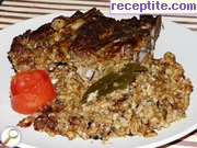 Lamb with bulgur in Dobrudjanski