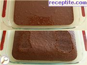 recipe photo 1 Pierce cake with pudding and cream