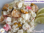 Risotto with seafood - II type