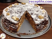 Layered cake Garash in Troyan