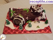 Christmas stump (Yule log)