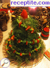 recipe photo 4 Salad Christmas tree
