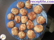 Apple biscuits with honey