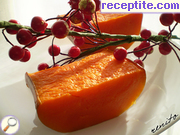 Roasted pumpkin with honey