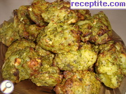 Cutlets from potato and broccoli
