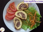 Egg roll with minced meat