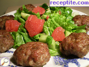Meatballs with extras