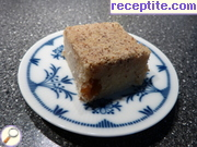 Semolina halva with milk