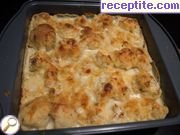 Cauliflower baked with cheese