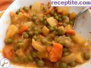 снимка 9 към рецепта Грах с картофи