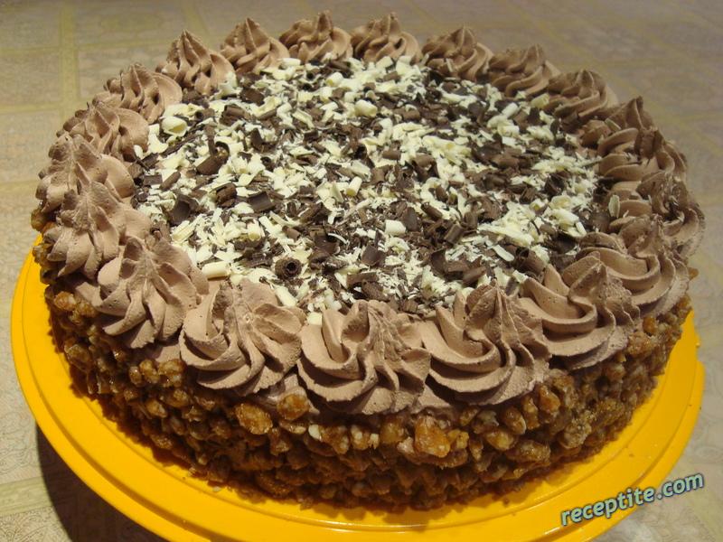 Снимки към Икономичен блат за торта